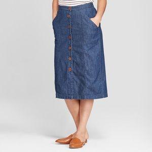 Universal Thread High-Waisted Jean Skirt